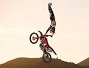 Обучение езды на кроссовом мотоцикле